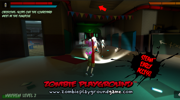 In Under A Week The Living Dead And Prescent Will Battle It Out On Steam Via Stealth Studios Zombie Playground Kickstarted 2017