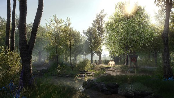 Listen to the Apocolypse in Everybody's Gone to the Rapture's haunting music