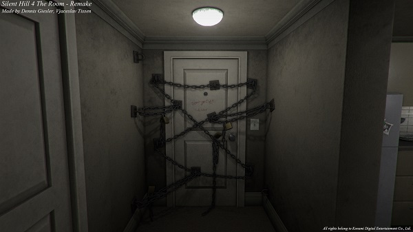 Check out Silent Hill 4's Room 302 remade in Unity