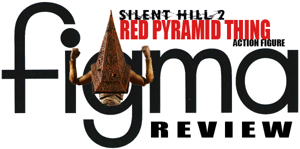 Impressions: Figma's Red Pyramid Thing action figure
