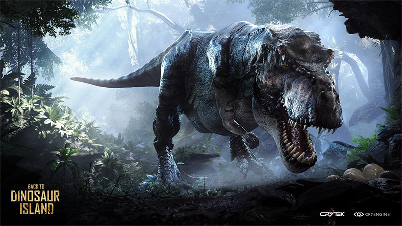 Back to Dinosaur Island moves forward onto Steam