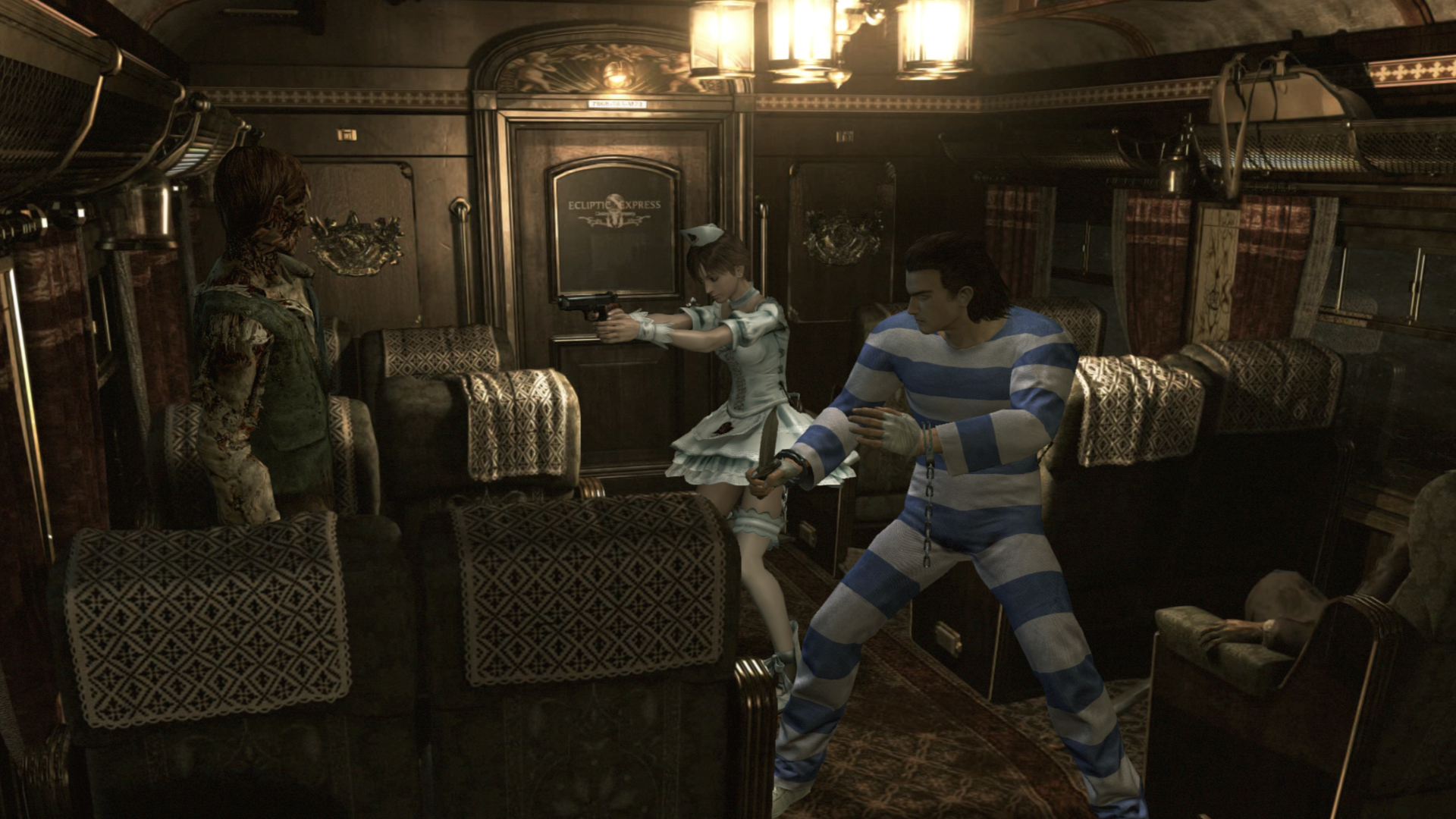 Preorder Resident Evil Origins Collection to gain access to these costumes