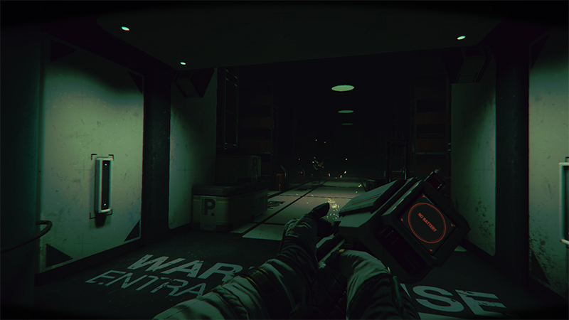 Update shown for Space Horror game, Routine