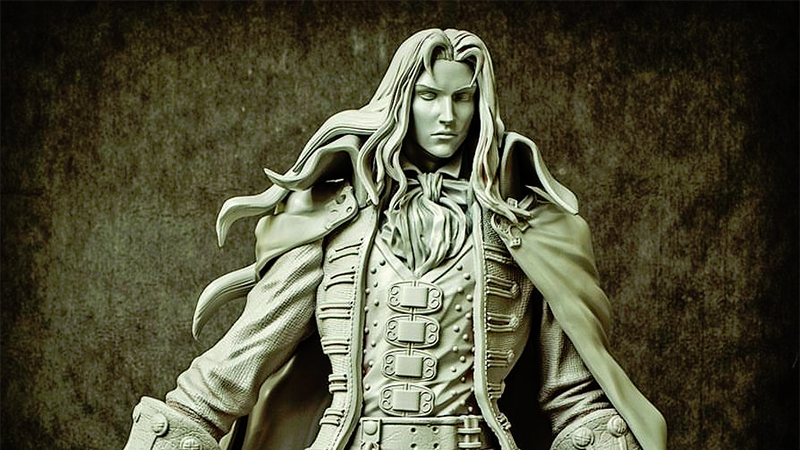 Alucard and friends coming to display cases from First 4 Figures