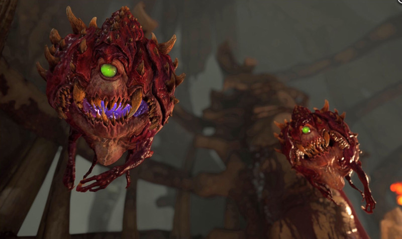 New DOOM Images Show Off Environments & Monsters