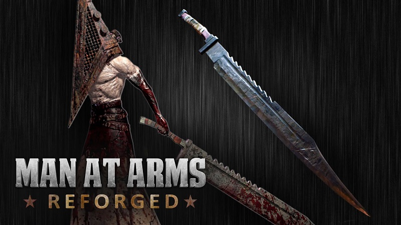 Man at Arms forges replica Pyramid Head sword