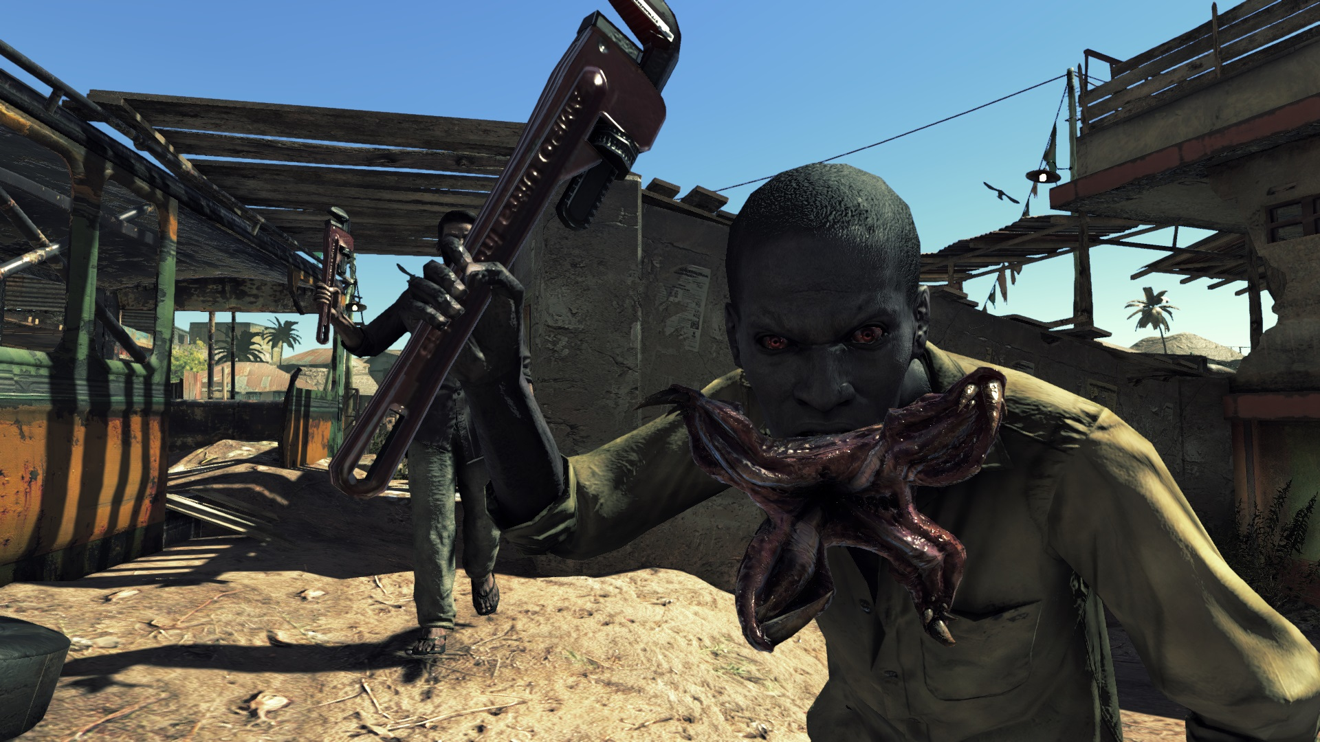 Check out Resident Evil 5's Kijuju in Umbrella Corps