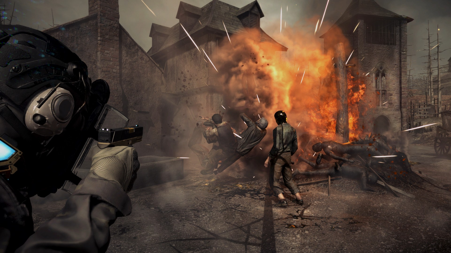 New Umbrella Corps images show off Resident Evil 4's village