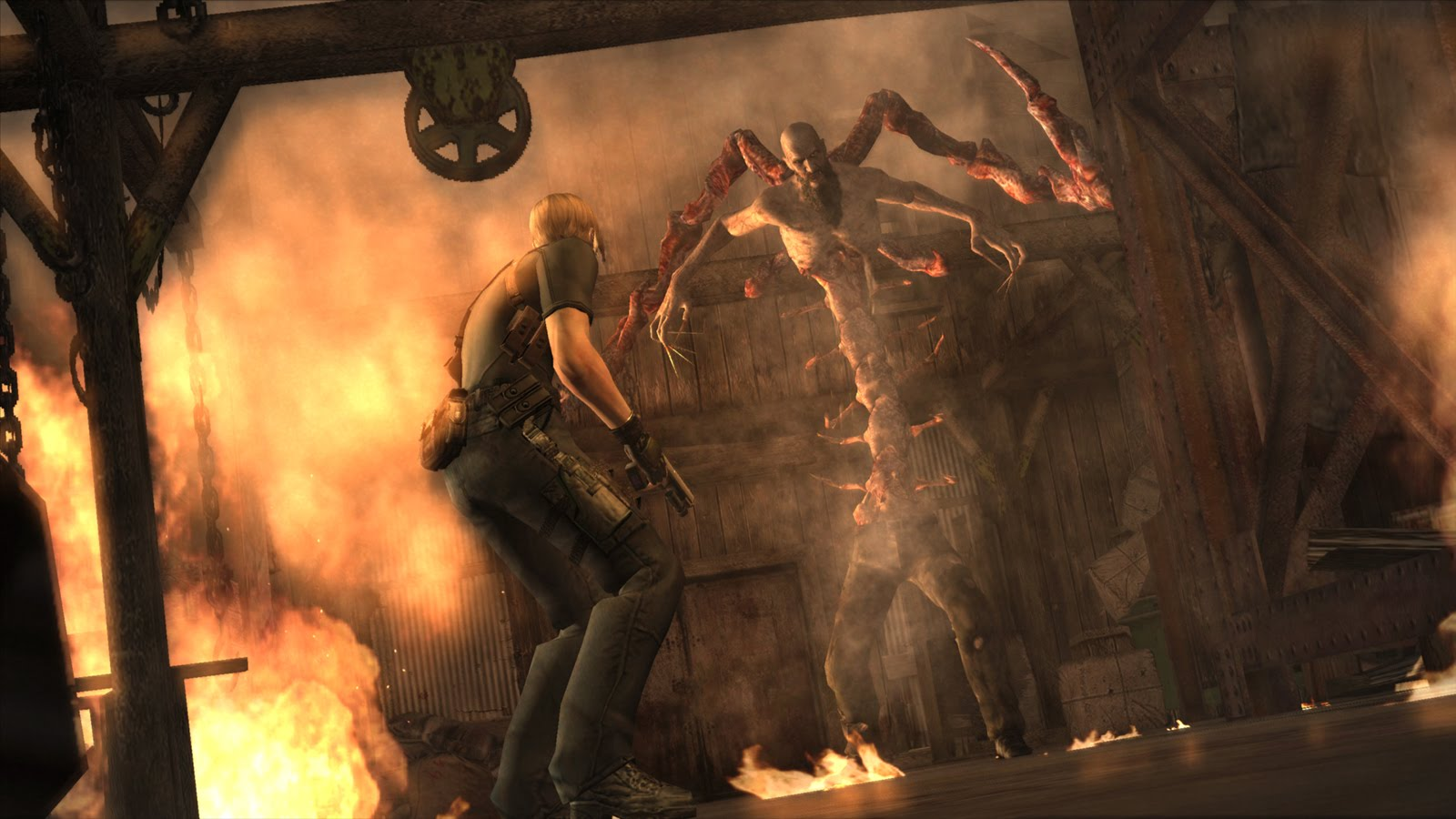 Resident Evil 4 launches on Wii U this week