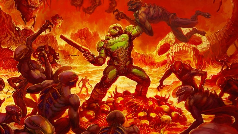 DOOM Campaign Trailer Leaked, Looks Like A Hell Of A Good Time (Update: It's gone)