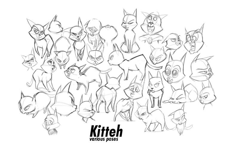 Gibbous Kitteh
