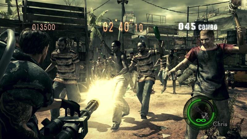 Resident Evil 5 Hd Combining Mercenaries And Mercenaries Reunion