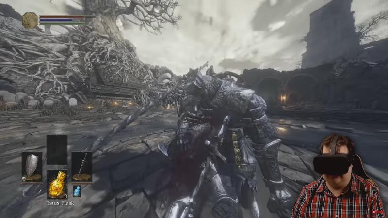 Dark Souls 3 in VR Looks Pretty Sweet