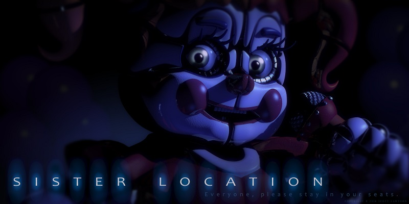 FNAF Spin-off Sister Location set for Fall Release (Maybe)