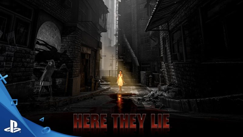 E3 2016: Here They Lie Announced for PS4 VR