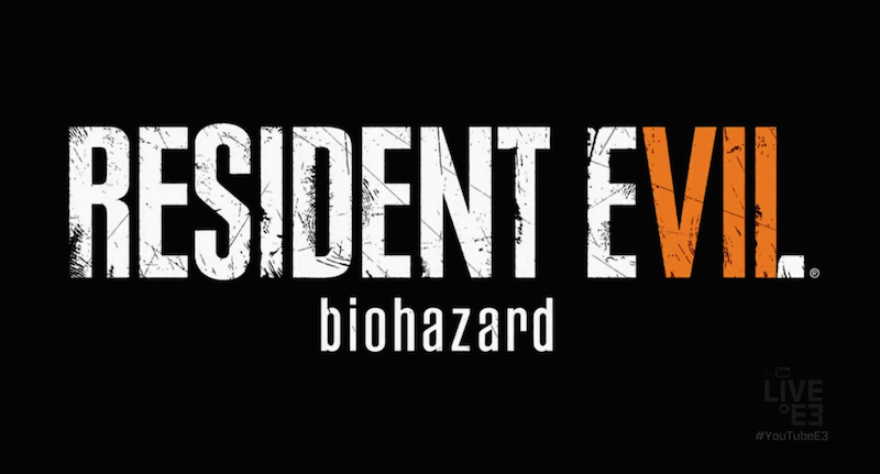 E3 2016: Resident Evil VII announced, demo available tonight on PS4