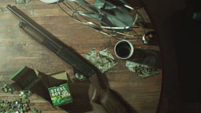 [Rumor] A First Look At Resident Evil 7's Combat In Leaked Screens?