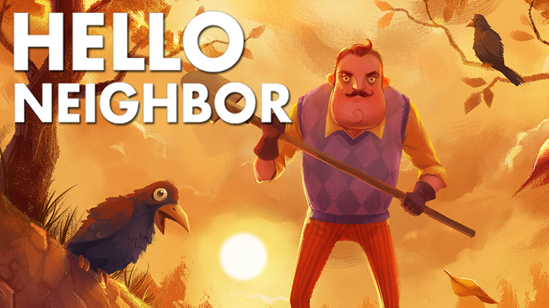 Hello Neighbor returns with a publisher and without a comma