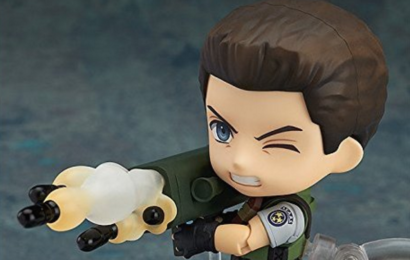 This adorable Chris Redfield figure is now available for pre-order!