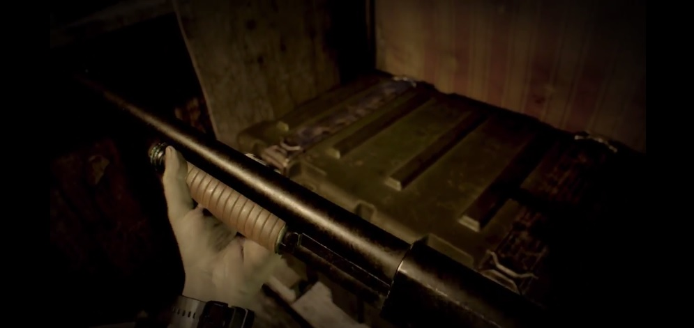 Yes, Resident Evil 7 will have guns; check out the shotgun!