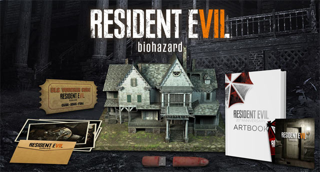 Gamestop: NA Resident Evil 7 Collector's Edition to be $180; Japanese CE Teases OST Tracks