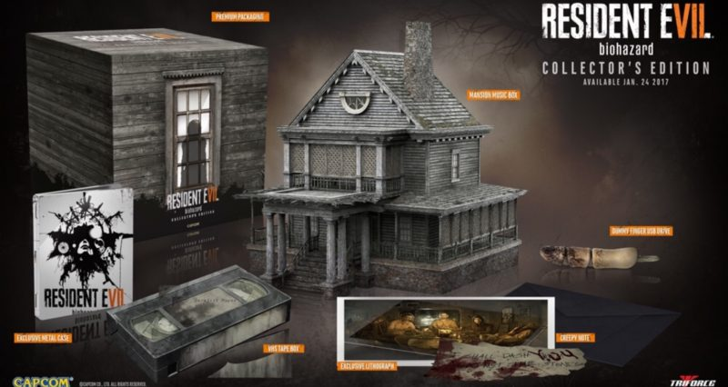 NA's Resident Evil 7 Collector's Edition Is Actually Totally Different And Way Cooler