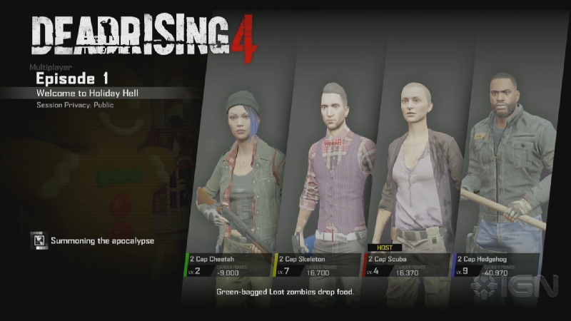 Dead Rising 4 Four-Player Co-Op Mode Revealed