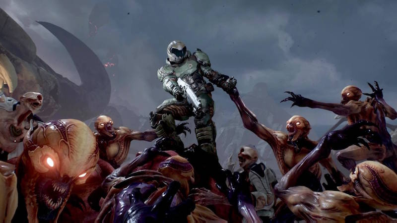 This DOOM documentary includes footage of canceled DOOM 4