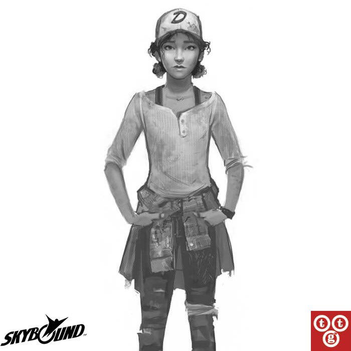 Check Out New Concept Art Of Clementine From The Walking