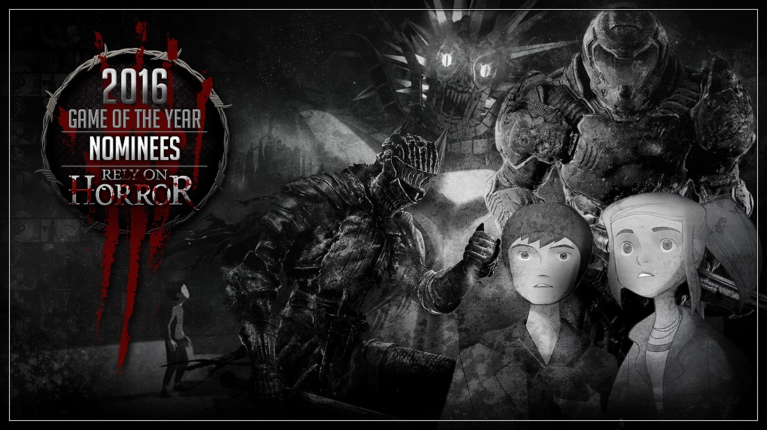 Rely on Horror's 2016 Game Of The Year: The Nominees