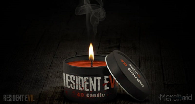 Resident Evil 7 Gets Blood-Scented Candle For Greater Immersion