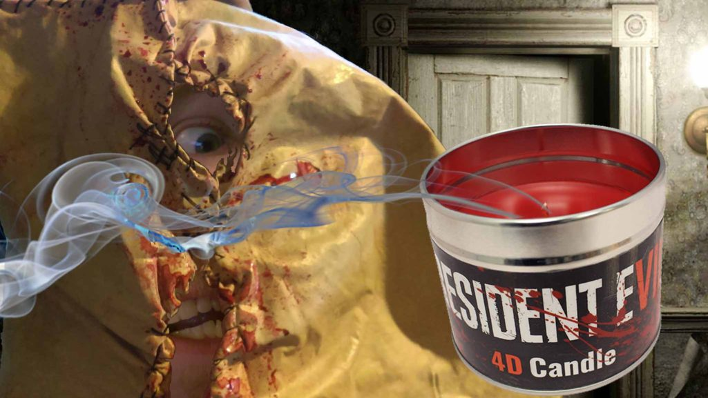 SackFace Reviews: Resident Evil 7 4D Candle! [Video]