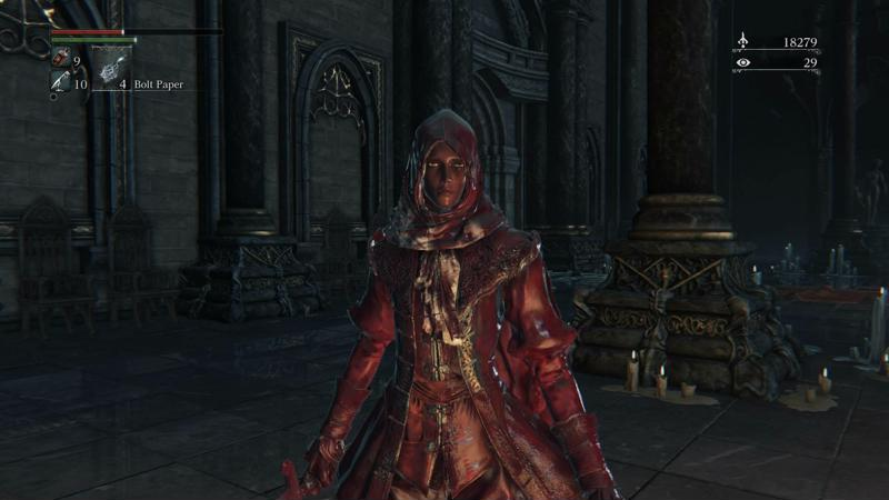 Bloodborne blood
