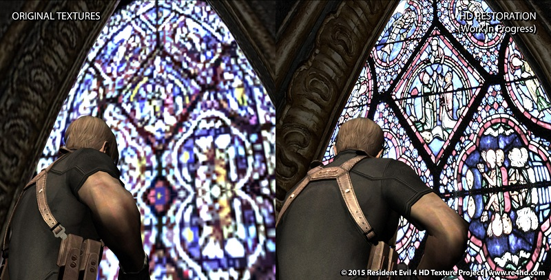 Resident Evil 4 HD Mod Releases Castle Update