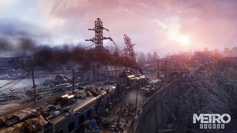 E3 2017: Metro Exodus Offers More Freedom but isn't Open-World