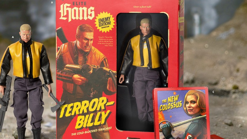 E3 2017: Wolfenstein II Gets Rad Retro Collector's Edition