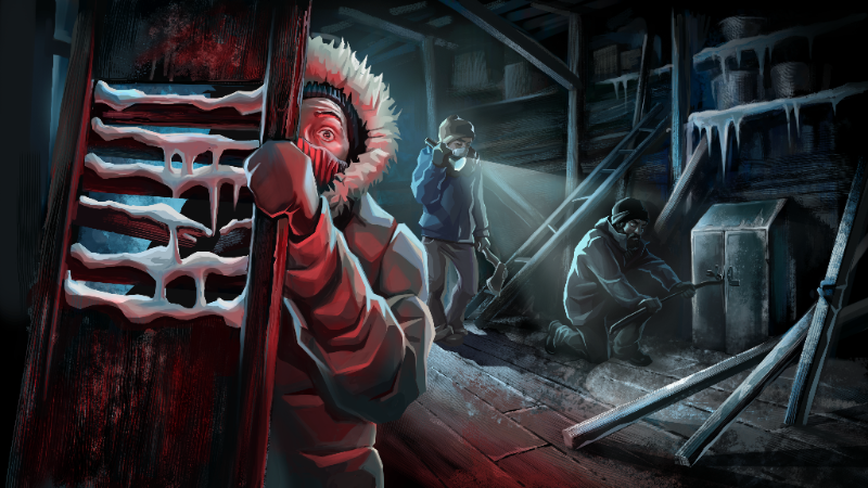 Isometric Survival Game Distrust Channels John Carpenter's The Thing
