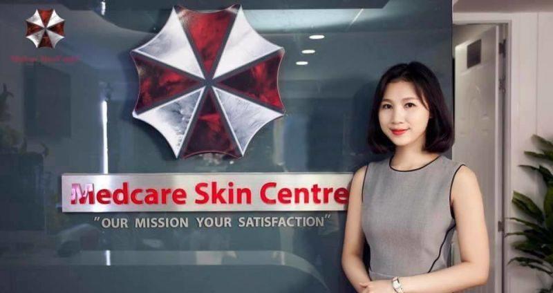 Vietnamese Skin Clinic Accidentally Uses The Umbrella Corporation Logo