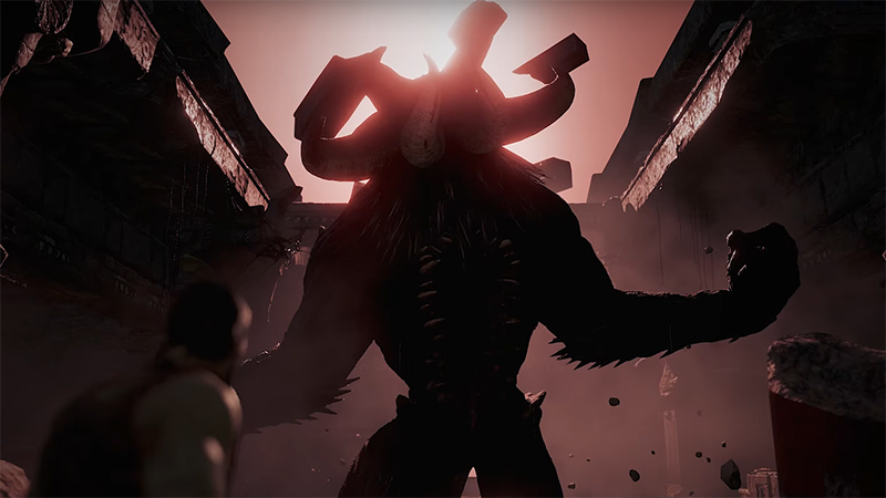 Theseus puts you against a minotaur in VR