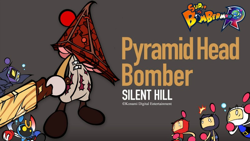 Konami Resurrects Silent Hill For Super Bomberman R DLC