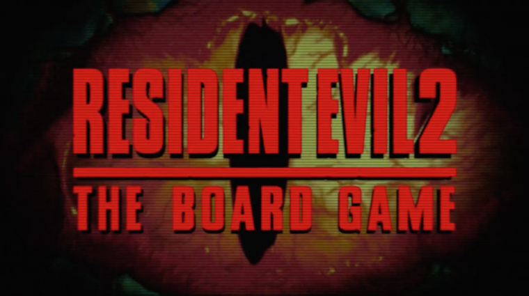 Resident Evil 2 (…the board game) Announced