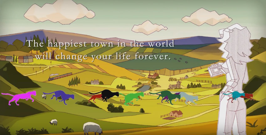 The Trailer for SWERY 65's New Game The Good Life Has Debuted