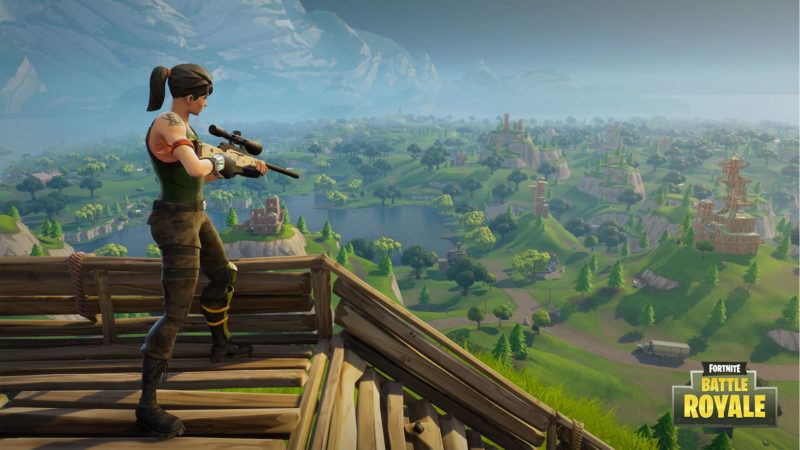 """Fortnite Getting """"Battle Royale"""" 100 Player PVP Mode"""