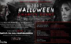 Rely on Horror Presents The 2017 Halloween Stream – A Weekend Charity Event