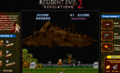 RE: Revelations & Revelations 2 Getting Retro-Style Mini Games on Switch