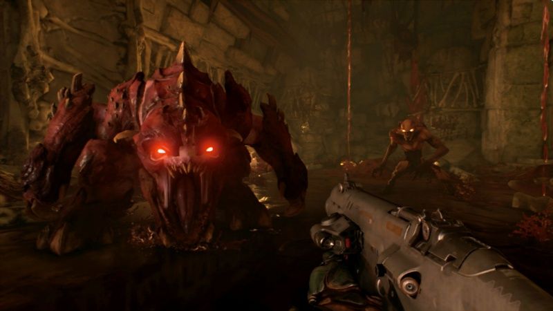 Review: DOOM (Nintendo Switch) - Rely on Horror