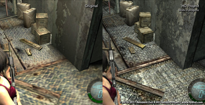 RE4HD Project Tackles Separate Ways in New Update