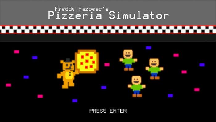 Scott Cawthon releases free game, Freddy Fazbear's Pizzeria Simulator