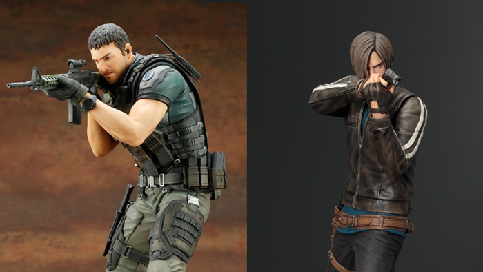 New Resident Evil Vendetta Figures are on their Way