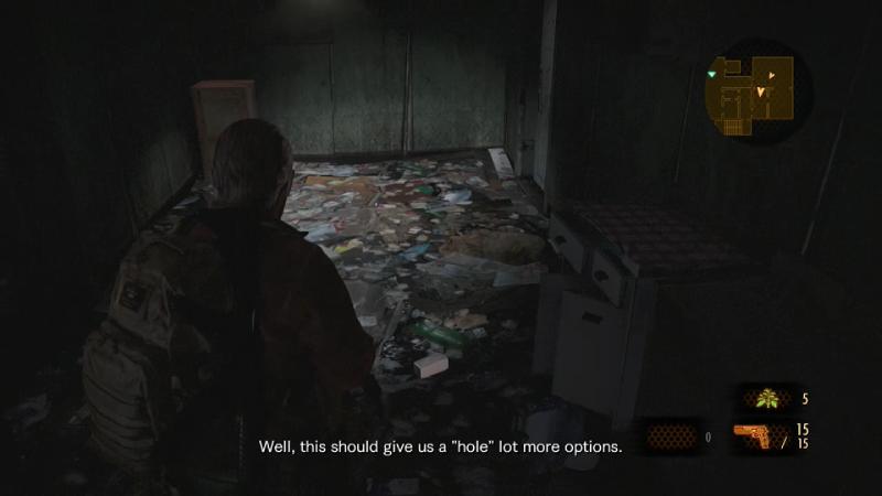 Resident Evil Barry